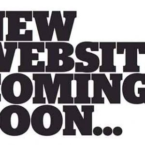 New Website Coming Soon!